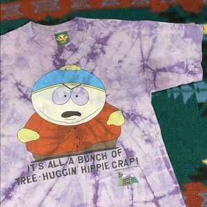 Vintage 1 of 1 dyed 1997 South Park Cartman tee 🔥